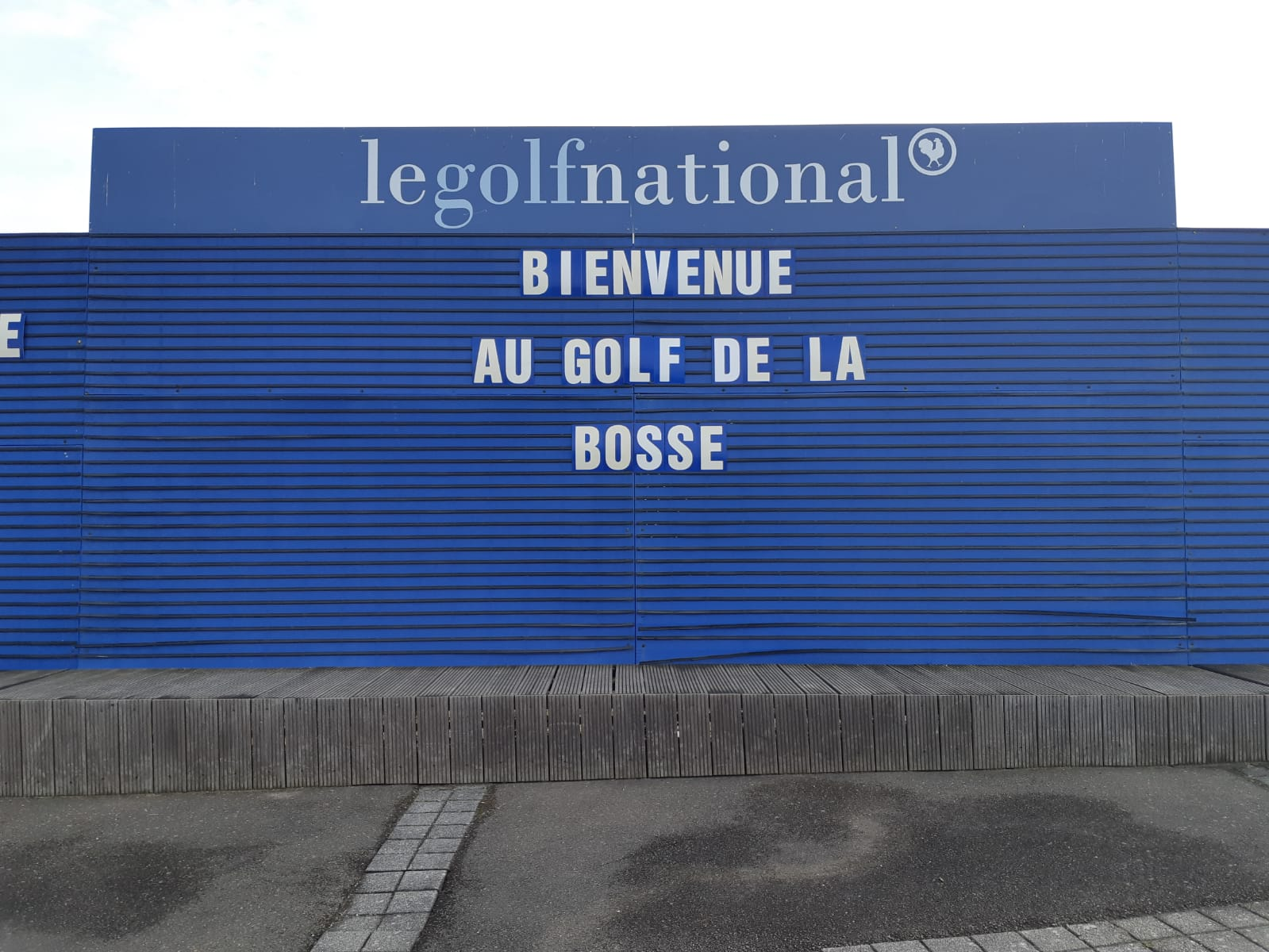 Accueil au golf national