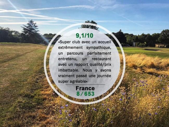 Top 10 des plus beaux parcours Français pour le Golf de la Bosse